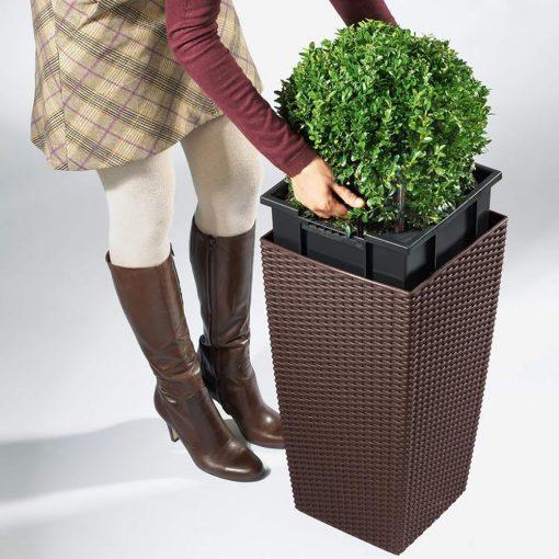 cubico cottage | Φυτώρια/Γεωπονικές Επιχειρήσεις Χορομίδης: γλάστρες, φυτά, καρποφόρα, αειθαλή, φυτοχώματα, λιπάσματα, εργαλεία και είδη κήπου | Horomidis Agronomic Corp. Flower pots, plants, garden utensils and supplies, evergreens, fruit trees, fertilizer, soil