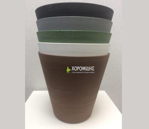 RE-POT ROUND SELF WATERING | Φυτώρια/Γεωπονικές Επιχειρήσεις Χορομίδης: γλάστρες, φυτά, καρποφόρα, αειθαλή, φυτοχώματα, λιπάσματα, εργαλεία και είδη κήπου | Horomidis Agronomic Corp. Flower pots, plants, garden utensils and supplies, evergreens, fruit trees, fertilizer, soil